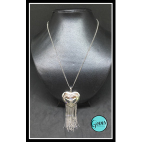 Colar Coração Silver ( Com Pingente De Coração Prata )