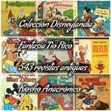 Disneylandia, Fantasia Antiguas Revistas De Envio Gratuito