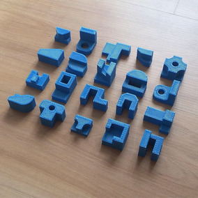 Kit 3d Para Aulas De Desenho Técnico 20 Unidades