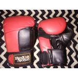 Par Luva De Boxe Muay Thai Red Nose Ótimo Estado