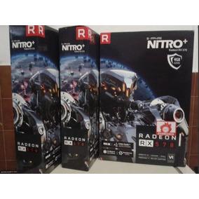 Tarjeta De Video Sapphire Radeon Nitro+ Rx 570 4g