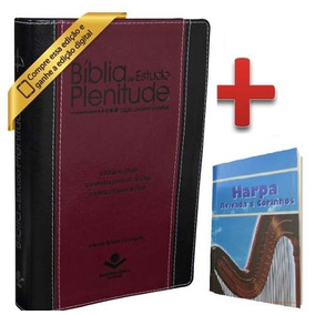Bíblia De Estudo Plenitude Rc Com Índice + Harpa Cristã