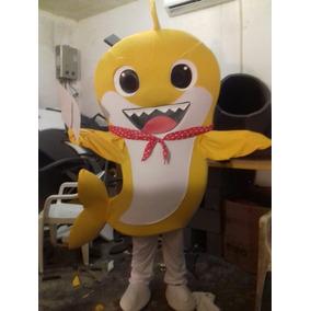 Baby Shark Disfraz Botarga Fiesta Amarillo