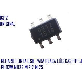 Reparo Porta Usb Ci D312 Nftf Placa Lógica Hp Laser P1102w