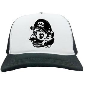 Bone Trucker Skull - Acessórios da Moda no Mercado Livre Brasil 1f9954a9a81
