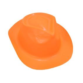 Cotillón Sombrero Cowboy Fluo Naranja Effa´s Party 91edcd9e3a7