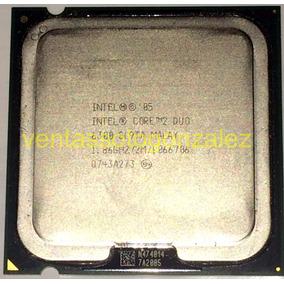 Procesador Intel® Core 2 Duo E6300 2m Cache/1.86ghz/1066 Mhz