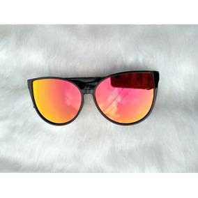 Oculos De Sol Cat Eyes Vermelho - Óculos no Mercado Livre Brasil 46b8a7550d