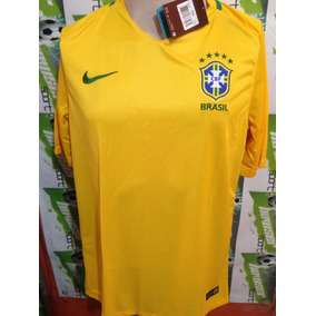 Jersey Nike Seleccion Brasil 2016 Local 100%original Oferta bfd717ae2d7e0