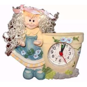 Reloj Despertador De Muñequita