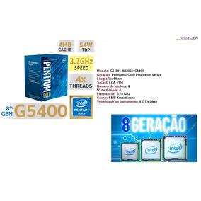 Processador Intel Pentium 1151 G5400 Coffee Lake Lga 1151 4k