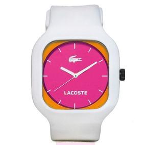 9de490b9858 Relogio Lacoste Pulseira Silicone Leilao - Relógios no Mercado Livre ...