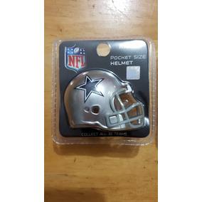 Casco Nfl Riddell Pocket Miniatura Vaqueros Dallas Cowboys 0f913222ff5