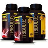 3 Tríbulus Terretris Extrato Puro 150 Cáp Pre Hormonal