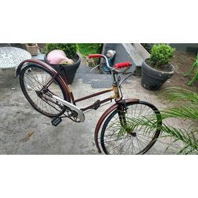 Bicicleta Antiga Monark Jubileu De Ouro Feminina Rara Aro 26