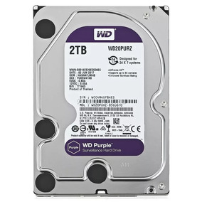 Disco Rigido Western Digital 2tb Wd Purple Dvr