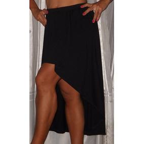 Pollera Larga Modal Algodon Negra - Polleras de Mujer en Mercado ... e5402297ba52