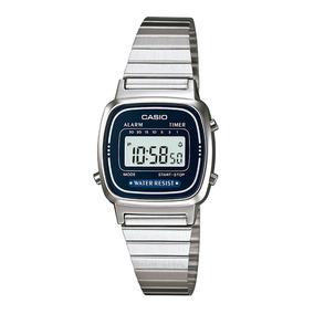 29b49d5ed90 Relógio Casio Vintage Azul - Relógios no Mercado Livre Brasil