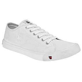 Tenis Escolar Polo Club Hombre Choclo Tex Blanco Dtt 22098