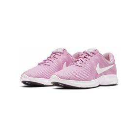 Tenis Nike Dama Revolution 4 Running Ligeros Comodos Origina