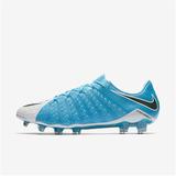 Celeste) Botines Nike Hypervenom Phantom Iii Fg (blanco - Deportes y ... 6af4274d61