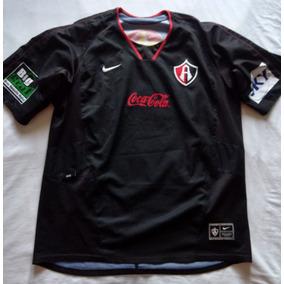 Jersey Playera Atlas Fútbol Club Rojinegros Nike 2005 L 11cfbcfbb63b7