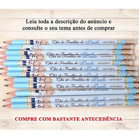 165 Lápis C/ Borracha Na Ponta Personalizados Lembrancinha