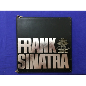 Frank Sinatra - Lonely Of The Top - 1979 - Caixa 3 Lps
