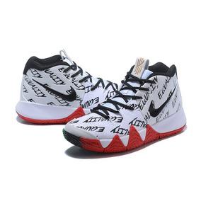 finest selection bec98 83e1c Tenis Basquet Nike Kyrie 4 Bhm Black Hystory Month 6 Al 8.5