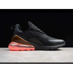 huge selection of b2407 2aae7 Nike Air Max 270 En Stock 2018 Originales Negro Naranja 90