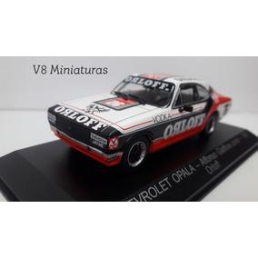 Miniatura Stock Car Chevrolet Opala 1981 Affonso Giaffone