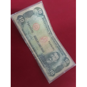 Billete De 10 Peso Dominicano