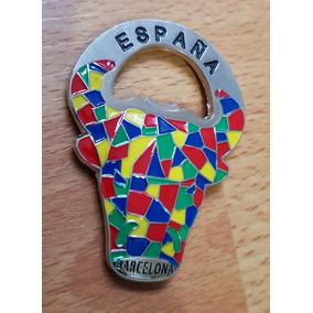 Toro Barcelona España Iman Recuerdo Souvenir Pais 02 2904981ed12