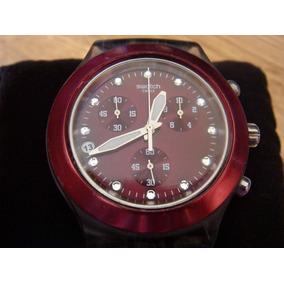 Reloj Swatch Diaphane Chrono Swiss Made
