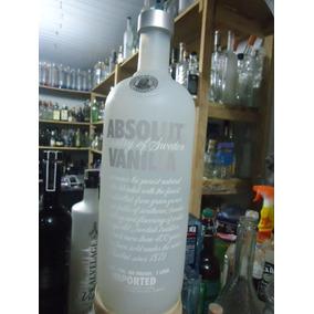 Vodka Absolut Vanilia Vazia [orgulhodoml2]1000ml N05