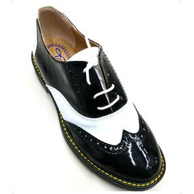 6d8c983247a Zapatos Oxford Mujer Charol - Zapatos en Mercado Libre México