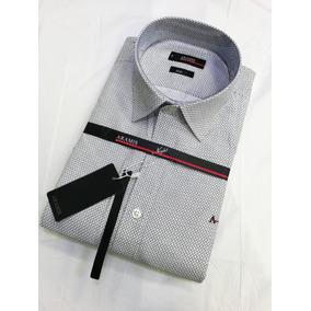 a3899c8e75cf6 Kit 10 Camisas Sociais Aramis Slim Fit Texturizado Lanç.