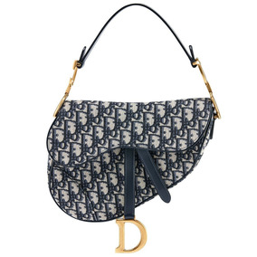 Bolsa Dior Saddle Oblique Feminina Couro Importada