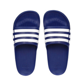 3be358c73288a2 Chinelo Adidas Duramo Branco E Azul - Sapatos no Mercado Livre Brasil