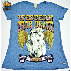 Camiseta Feminina Zenz Western T-shirt Legendary Zw117037