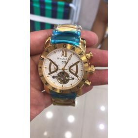 42fdb695da7 Relogio Bvlgari Moeda Fundo Branco - Relógios De Pulso no Mercado ...