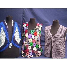 Chaleco Circular Crochet - Ropa y Accesorios en Mercado Libre Argentina 28cdfbee9826