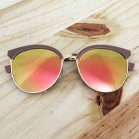 d9103f43d82fe Oculos Feminino Espelhado Gatinho - Óculos De Sol Com lente ...