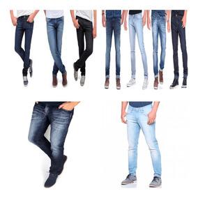 Kit 10 Calça Jeans Masculina - Calças Jeans Masculino no Mercado ... 91b28f1d02f