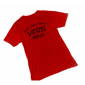 Duo Playeras Vans Off The Wall Classic T Shirt Old Skool