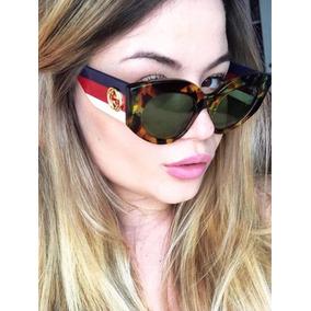 5515ef2c488f3 Estojo De Óculos Gucci Completo - Óculos no Mercado Livre Brasil