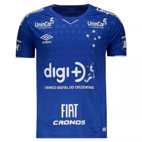 Camisa Oficial Cruzeiro Com Patrocínio 19/2020 - (prazo)