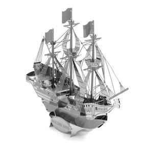 Navio Galeão Hinde Quebra Cabeça Em Aço 3d