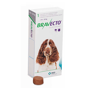 Bravecto Para Perros 10 - 20 Kg Razas Medianas