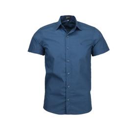 e4550c571 Camisa Savoy Tecido Com Micro Estampas Não Amassa Promoção